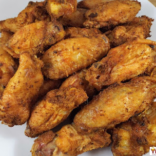 Crispy Curry Oven Baked Chicken Wings Recipe