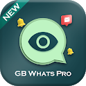 GB Whats Pro : Whats Online, Status Saver icon