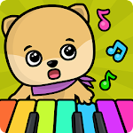 Baby piano and music games for kids and toddlers Icon