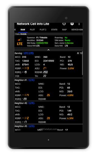 Network Cell Info Lite screenshot 18