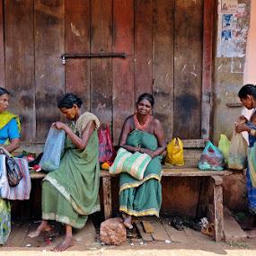 Tribal women  by Shashank Ramesh - People Street & Candids ( abstract, street, india, tribal, women )