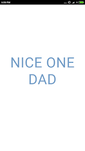 Nice One Dad - náhled