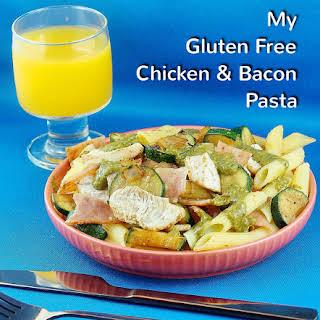 My Gluten Free Chicken & Bacon Pasta.