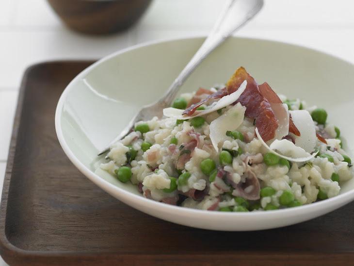 Prosciutto and Pea Risotto Recipe