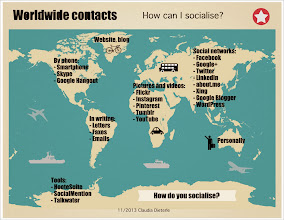 Photo: Worldwide contacts