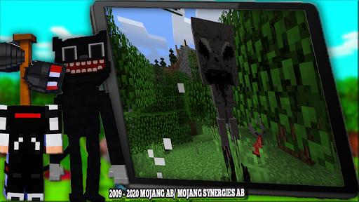 Cartoon Cat Mod & New Siren Head Mod For MCPE apktram screenshots 16