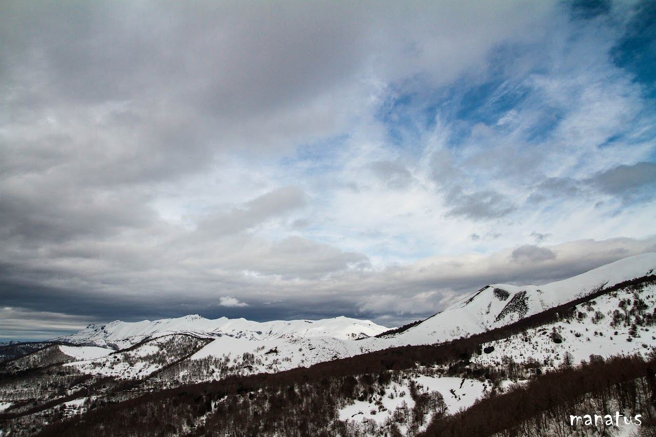 manatus montañas nevadas