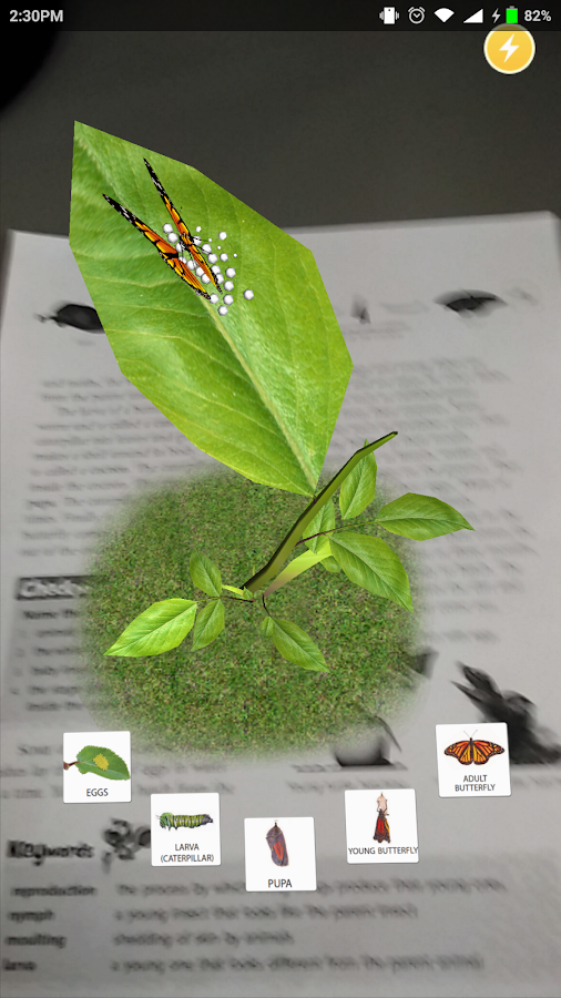Ratna Sagar Science Magic AR- screenshot