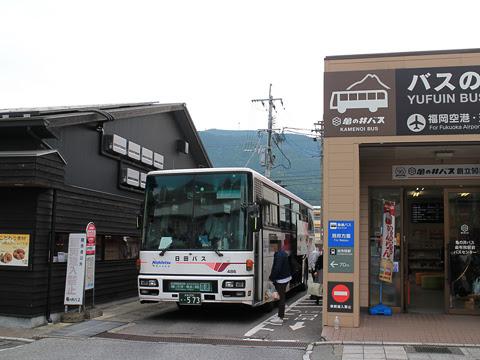 日田バス「ゆふいん号」 486 由布院駅前バスセンター改札中 その1