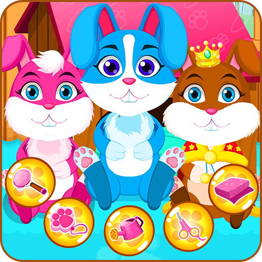 Baby bunny grooming makeover Icon