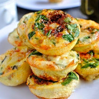 Curd Mini-casserole With Cheese And Vegetables