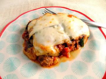 Elaine's Low-carb Zucchini Three Cheese Lasagna Recipe