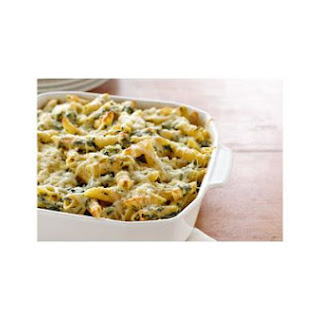 Four Cheese Pasta Florentine