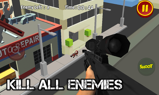 一枪致命狙击手3D拍摄