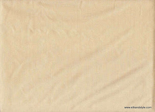 Photo: Agra 07 - Plain Dove   100% Silk Taffeta Plain