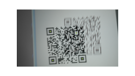 QR-CODE scanner Light Fast