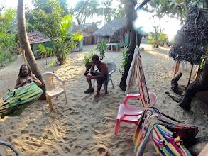 Photo: kudle beach, hammock again.