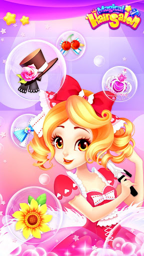 Magical Hair Salon: Girl Makeover 1.1.4 screenshots 6
