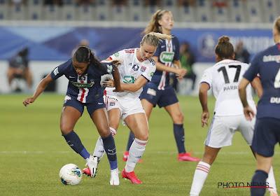 Janice Cayman pakt prijs met Olympique Lyon