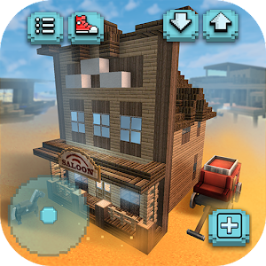 Wild west craft building cowboys indians world for Crafting and building app store