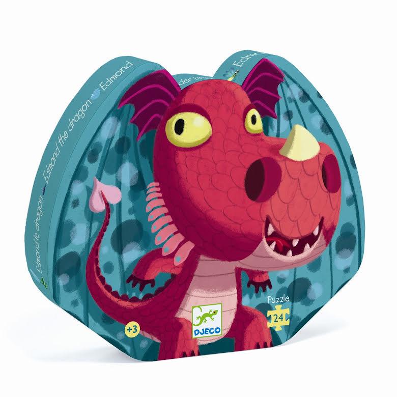 Djeco - Siluettepussel Edmond the dragon
