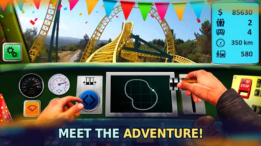 Roller Coaster Train Simulator for PC