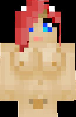 скин голой женщины в майнкрафт #3