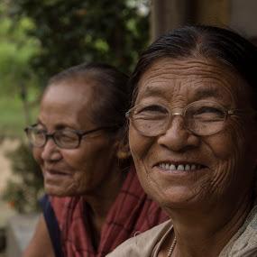 sisters by Priyojit Singh Akoijam - People Family