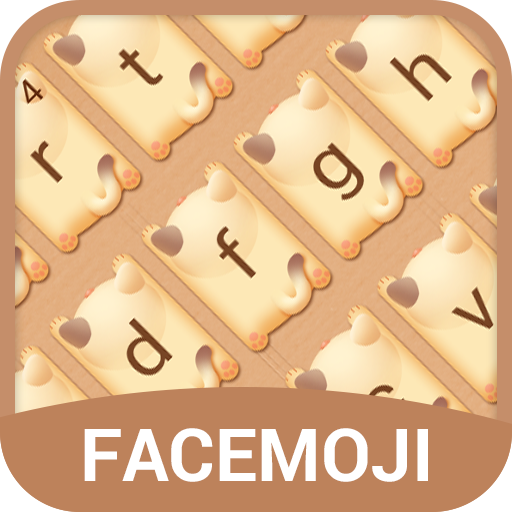 Cute Kitty Emoji Keyboard Theme for Facebook