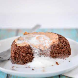 5-Ingredient Single-Serve Chocolate Cake.