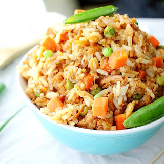 Simple and Easy Chicken Fried Rice