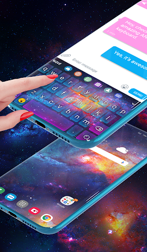 Stardust Live Wallpaper & Animated Keyboard screenshot 4