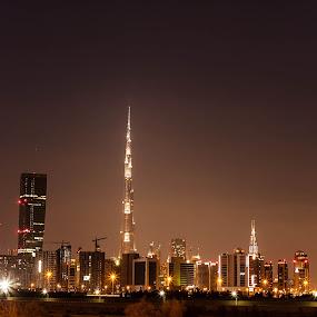 Burj Khalifa by Marlon Diwata - City,  Street & Park  Skylines