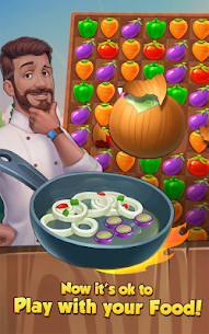 Yummy Drop! – A Free Match 3 Puzzle Cooking Game – APK Mod for Android 1
