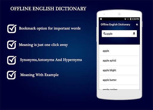 Offline English Dictionary 1.0.4 screenshots 2