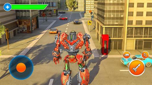 Robot Fire Fighter Rescue Truck 1.1.4 screenshots 4