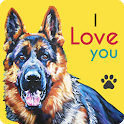 German Shepherds Wallpaper icon