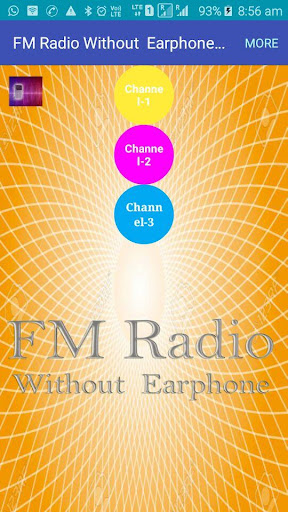 FM Radio Without Earphone and Antenna 1.0 screenshots 1