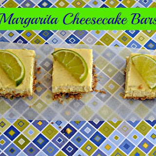 Margarita Cheesecake Bars (adapted from Martha Stewart)