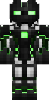 creeper minecraft robot skin