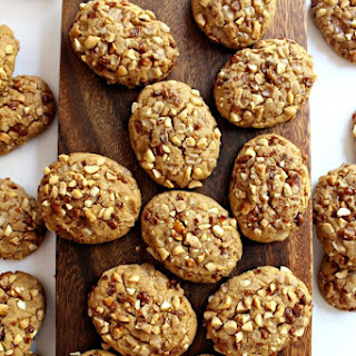 Toffee Peanut Cookies