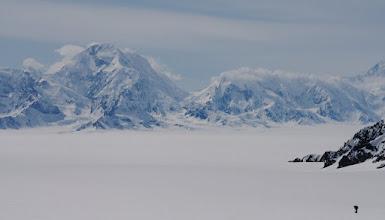 Photo: Leaving Seward Glacier behind.