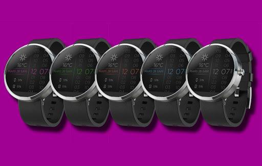 BadApps Linear Light WatchFace