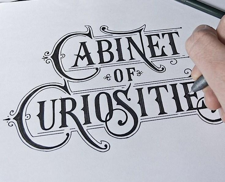 hand lettering styles screenshot