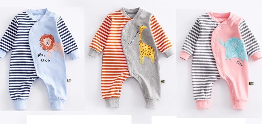 Kombinezon dresowy dla niemowlaka na jesień 6