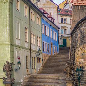 Ke hradu ,Prague by Yordan Mihov - City,  Street & Park  Neighborhoods ( urban, czech republic, ke hradu, prague, city )