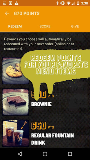 QDOBA Rewards Screenshot