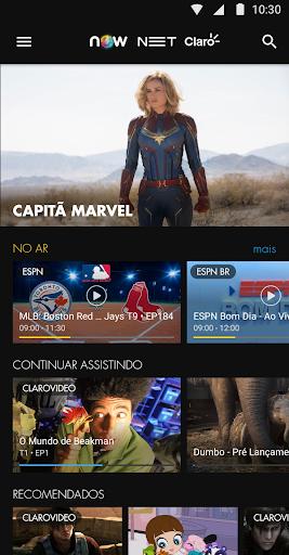 NOW  NET e Claro  screenshots 2