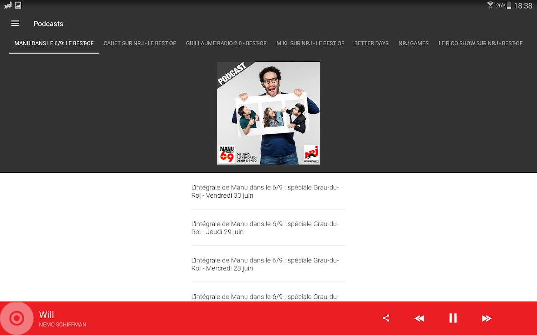 View bigger bruno mars ethnicity for android screenshot - Nrj Radios Screenshot