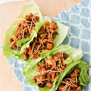 Chinese Chicken Lettuce Wraps.